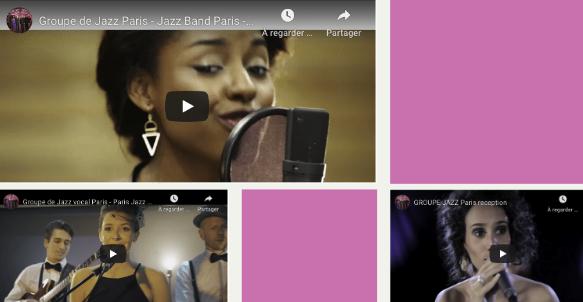 Groupe Jazz Paris vocal avec chanteuse