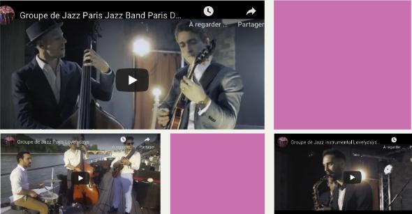 Groupe jazz Paris Instrumental Vidéo