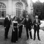groupe de jazz en quintet