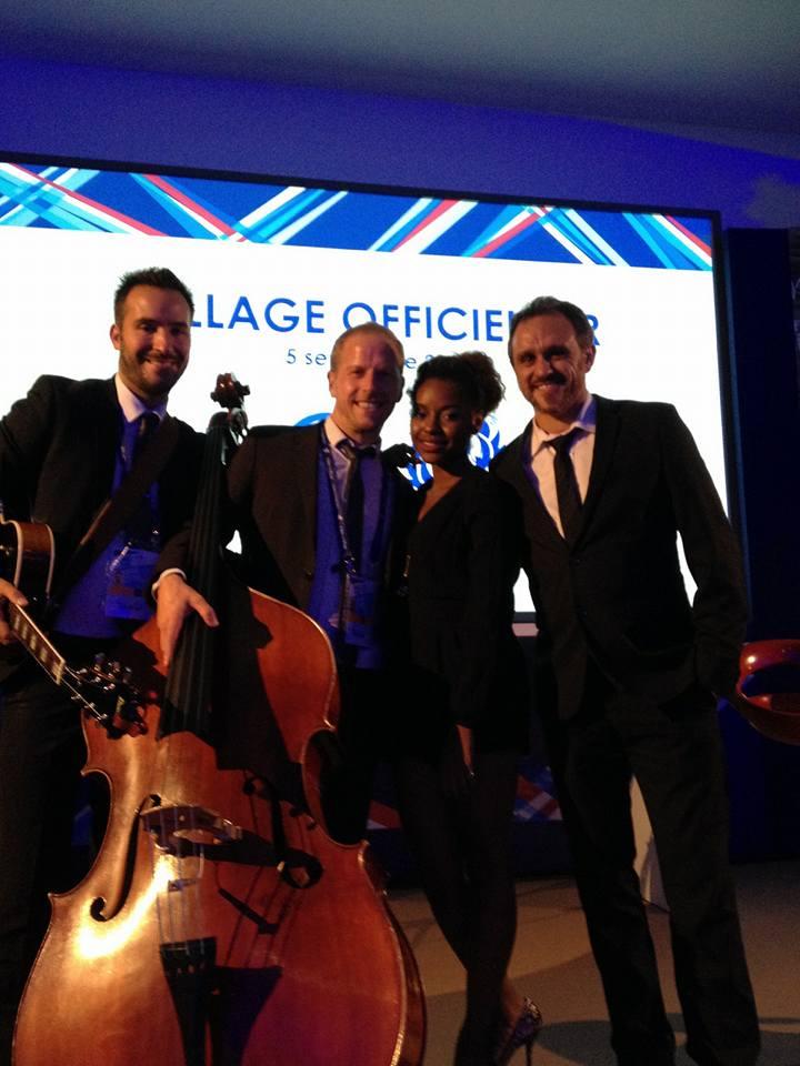 Groupe de Jazz soirée privée Paris