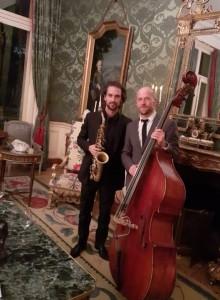 Contrebasse Saxophone contrebassiste Saxophoniste Paris