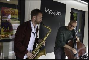 Groupe de Jazz Paris duo contrebasse guitare