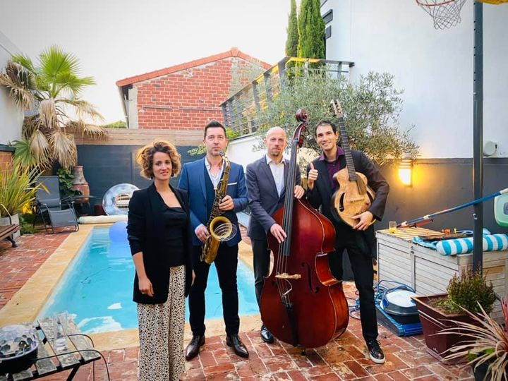 groupe de jazz mariage Paris